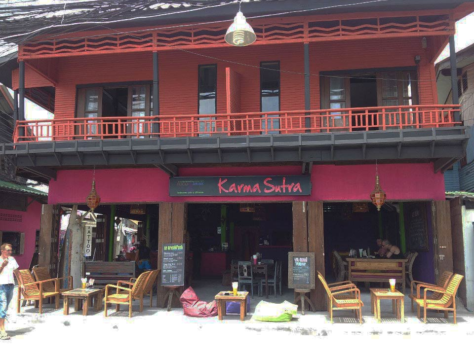 In the district the most French of koh samui thailand bar and French restaurant with Thai Karma Sutra and Laurent