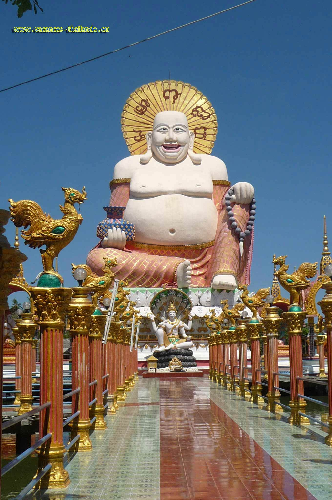 photo 17 the beautiful temples of Buddha 5 minutes of the rented house on Koh Samui in Thailand, your desires for your holiday rental in Thailand and on the island of Koh Samui